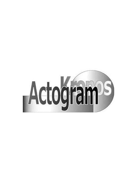 Logiciel ACTOGRAM KRONOS Version 2 (French-English bilingual version)